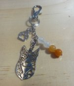 Cattle Dog/ Red Heeler - Key Chain