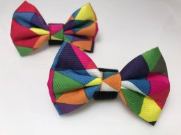 Harlequin Check Bow