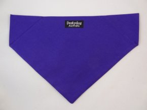 Purple Plain Bandanna