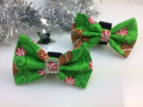 Bow- Green Ginger Bread