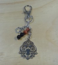 King Charles Cavalier- Black and Tan Key Chain