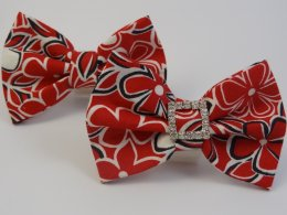 Red Hawaii Bow