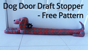 Dog Draft Stop Free Pattern